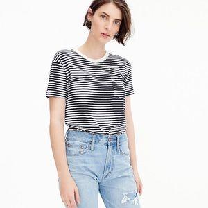 NEW Jcrew striped T bodysuit